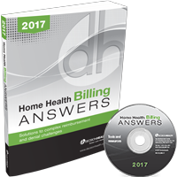 Home Health Billing Answers, 2017